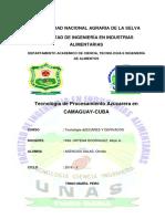 Tecnología de procesamiento azucarera en CAMAGUAY MONOFRAFIA.docx