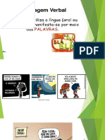 1481200210 Lingua Portuguesa, Linguagem Verbal