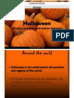 Halloween Origins and Similar Festivals of the Dead