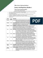 Perf Rep Studies 1_Marking Guidelines