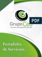 Portafolio de Servicios Grupo Ceo