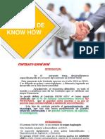 Contrato de know how-Comercial