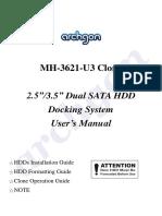 Archgon - MH-3621-U3_Manual
