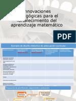 03 Matematicas U4 Innovaciones Pedagogicas