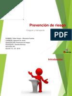 Presentación Prevención de Riesgo