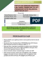 PPT Diagnosis Komunitas HDK
