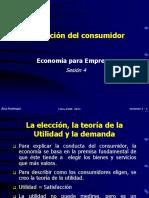 la economía del consumidor