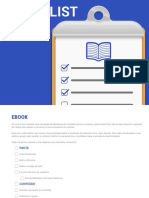 Checklist de Ebook
