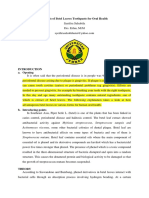 (FIXED) B. Ing Benefit of Betel  Leaf Toothpaste - SYEIFIRA SALSABILA 16-108.docx