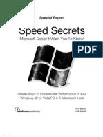 Speed Secret-XP - Vista
