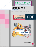 Modulo II Passive-past