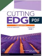 Cutting Edge Work Book Upper Intermedite Unit 1