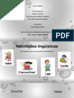 habilidades linguisticas