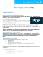 Glucose 6 Phosphate Dehydrogenase (G6PD) Deficiency_A Patients Guide