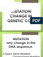 Mutation Powerpoint
