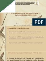 LOS DOCENTES Y SU PARTICIPAIÓN EN LA EVALUACIÓN.pptx