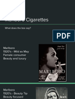 Cigarette Packaging powerpoint