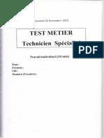 Test informaticiens