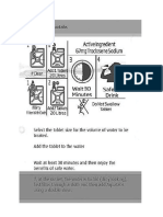 How to Use Aquatabs - Philippines