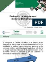 Evaluación Procesos Medico Administrativos