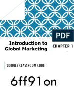 ppt global Marketing chapter 1