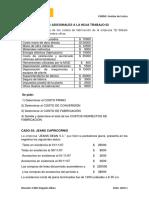 EJERCICIOS ADICIONALES DE COSTOS