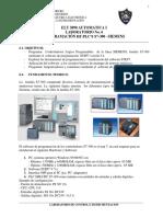 ELT 3890 AUTOMATICA I LABORATORIO No. 6 PROGRAMACIÓN DE PLC S S7-300 SIEMENS.pdf