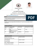 Resume Priyanshu 11varshney