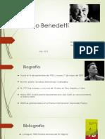 Analisis de Un Poeta Mario Benedetti