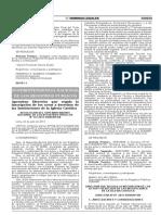 Directiva de los Registros Públicos del Perú sobre inscripcion de entidades religiosas