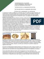 1.1 Desarrollo Histórico de La Ingeniería y Su Definición