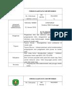 SOP PENGELOLAAN DATA & INFORMASI RS edit.doc