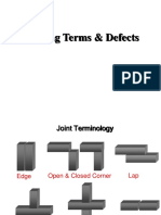 Welding Terms and Defects