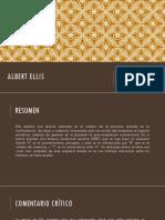 Ellis y Maslow