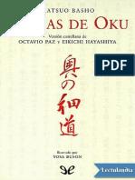 Sendas de Oku - Basho Matsuo.pdf