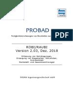 Handbuch Robi