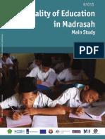 Quality Education at Madrasa by World Bank.pdf
