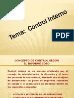 3. Control Interno