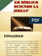 Presentacion Del Curso Biblico