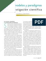 01 - Teorias Modelos y Paradigmas en La Investigacion Cientifica