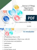 IoT Presentation Bachelors