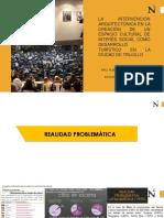 Justificación de un Centro Cultural en la provincia de Trujillo