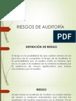 4. Riesgos de Auditoría