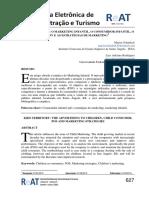 Revista eletrônica de administração e turismo