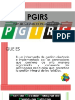 Plan de Implementacion Del Sig