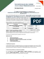 Acta Sucursales Alfonso- TRESCACOL