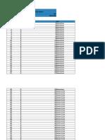 Detalle de pruebas y su expresión en gráficas y estadística