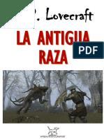 LOVECRAFT, H. P. = Antigua raza.pdf