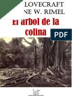 LOVECRAFT, H. P. = Árbol de la colina.pdf