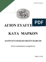 VARIOS AUTORES. Nuevo comentario al evangelio de Marcos. 2019.pdf